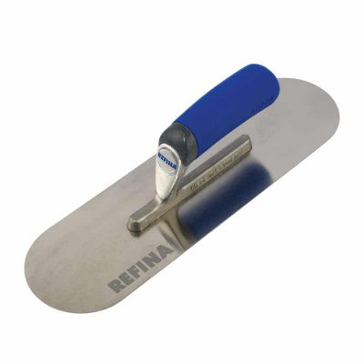 Premium Pool Trowel in finest chrome stainless steel