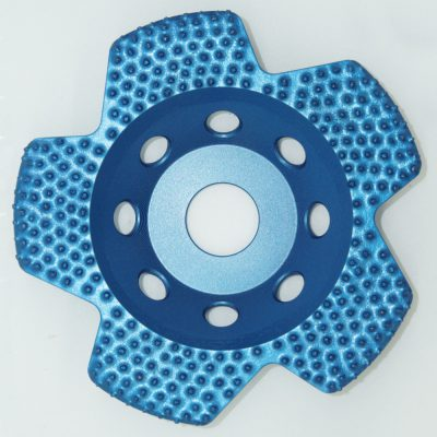 Grizzly Winged Diamond cup grinding disc.