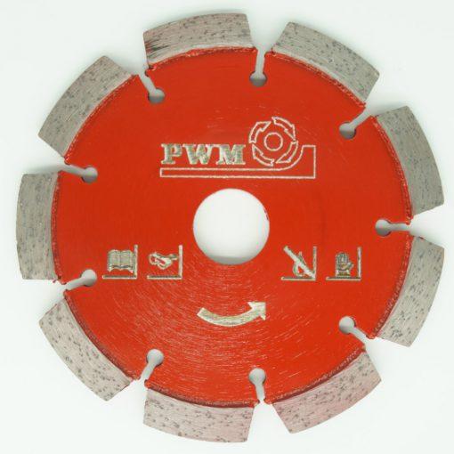 V Profile crack repair crack chasing milling disc