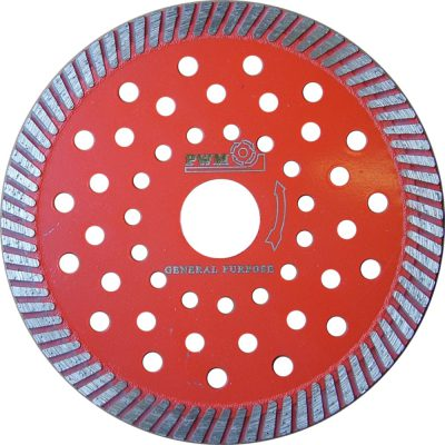 Diamond blades for concrete cutting and chasing