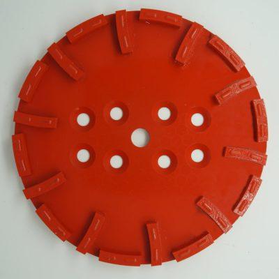 Diamond grinding plates