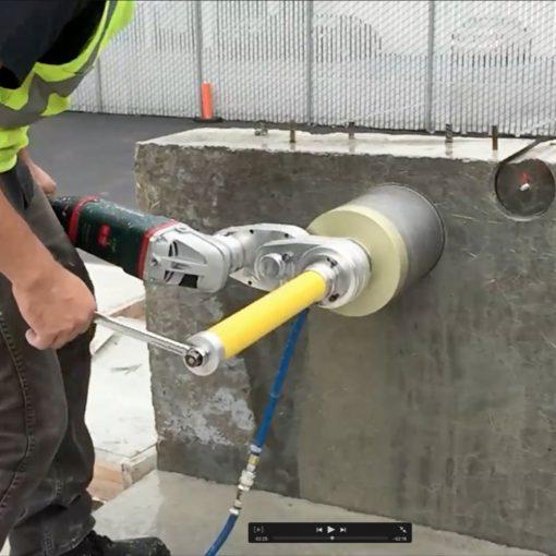 CoreEZE Diamond Core Drilling System Hand held