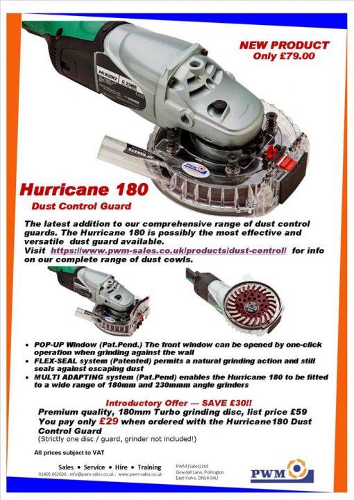 Hurricane 180 Dust Control Cowl Information Sheet